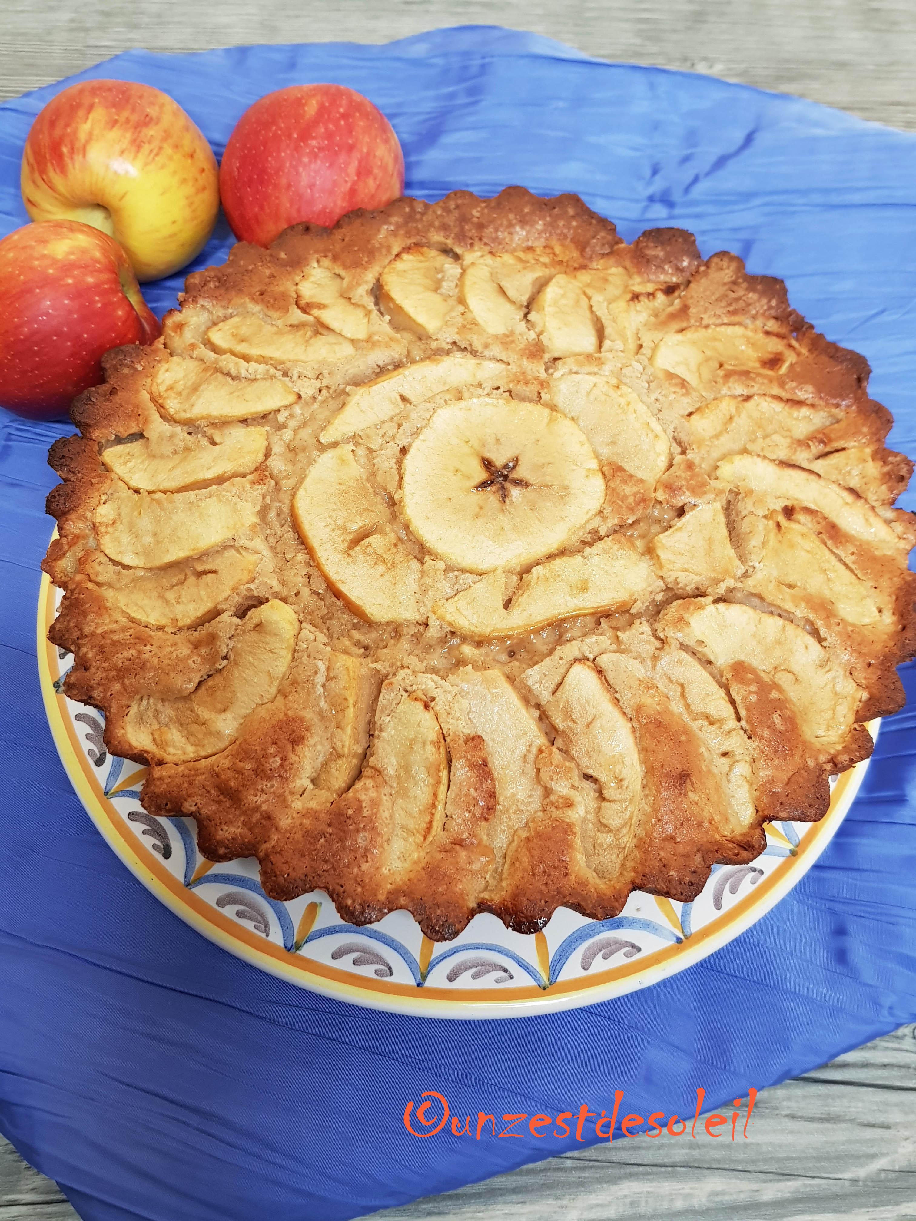 gateau aux pommes et lait ribot